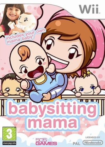 Babysitting Mama USA WII (exclue) [FS]